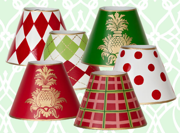 Christmas Chandelier Lamp Shades
