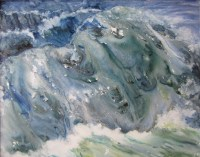 Maine Wave Painting