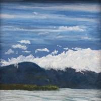 Pastel Maine Seascape