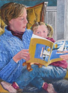 Mom Reading to Child
