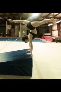 Handstand Splits Wedge Mat Gymnastics