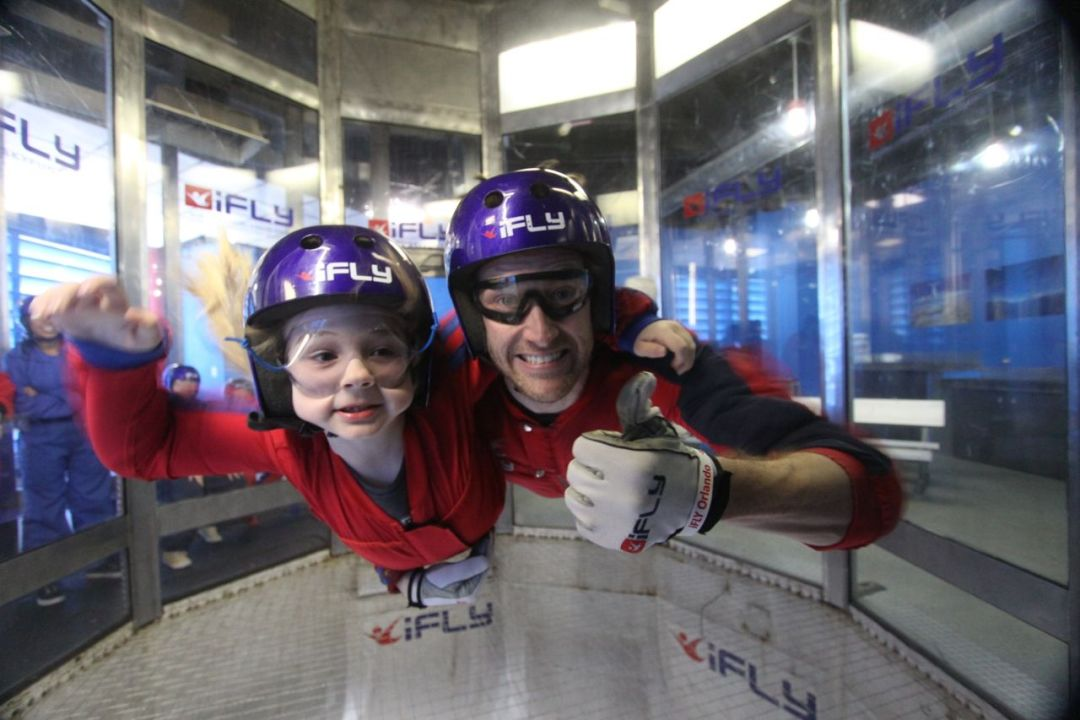 Indoor Skydiving with iFly in Florida