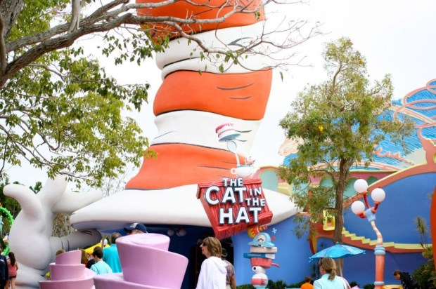 cat in the hat at universal orlando