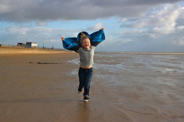 beach games winter