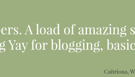 What's Blogging Ever Done for Us?
