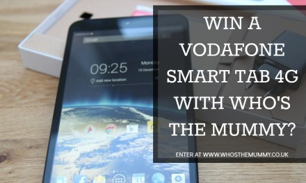 Win a Vodafone Smart 4G Tablet this Christmas!