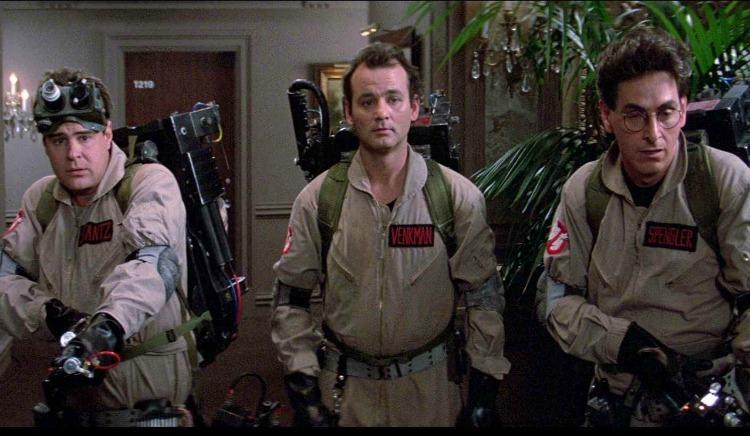 Ghostbusters top ten 80s movie