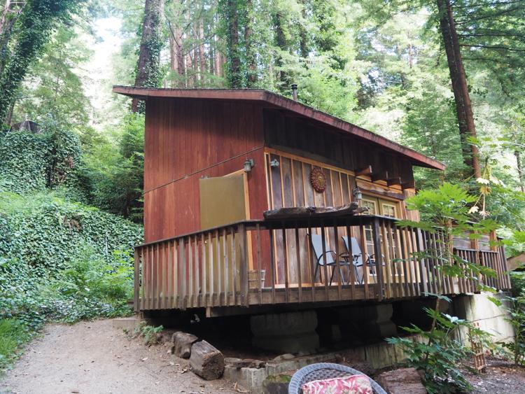 cabin in big sur redwoods
