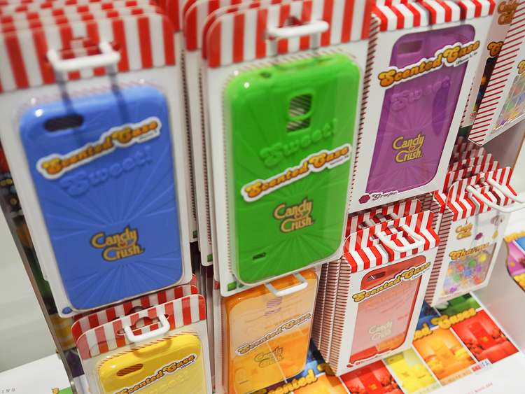 candy crush scented phone case