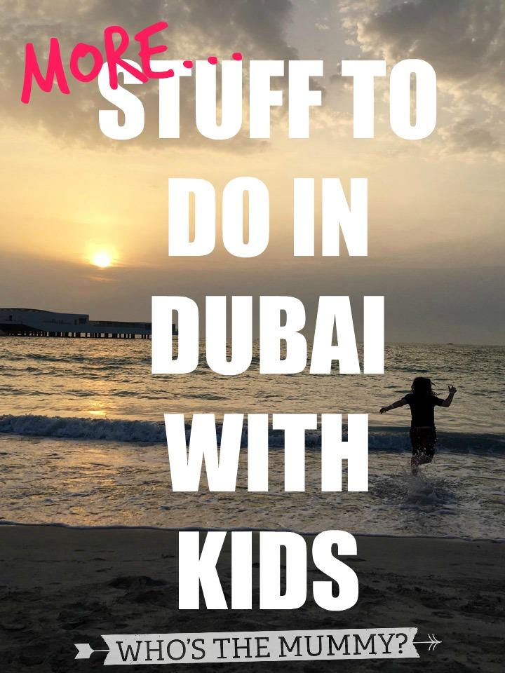stuff to do in dubai with kids