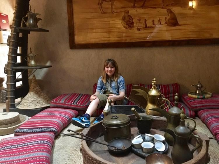 coffee in old dubai