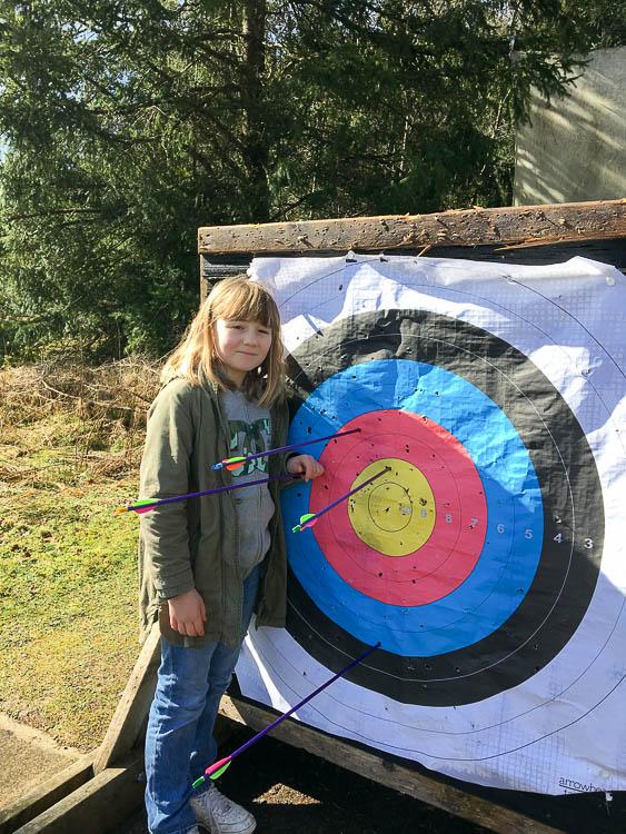 archery at Kielder