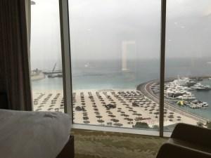 jumeirah beach hotel view