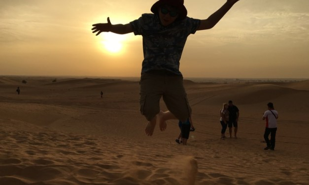 A Desert Safari Adventure in Dubai