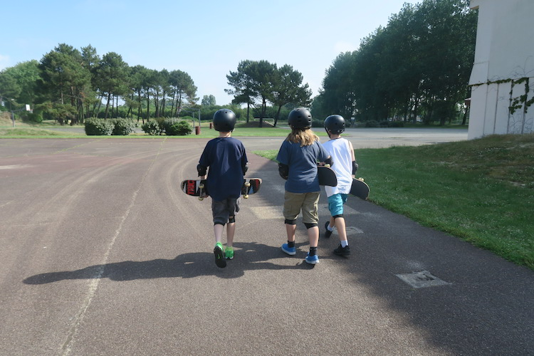 skateboarding lessons moliets