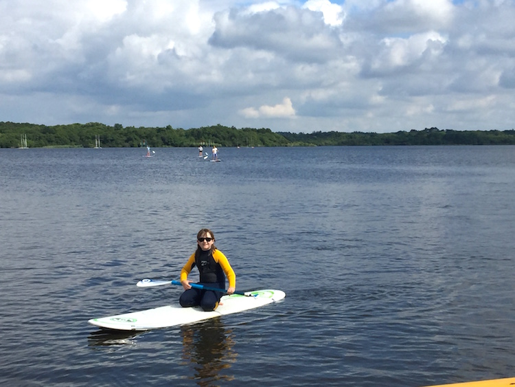 paddleboarding moliets