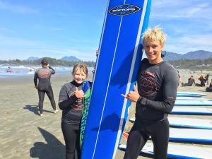 surf lessons tofino