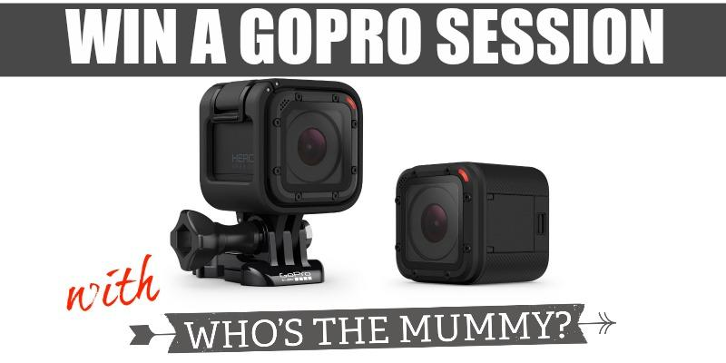 Win a GoPro Session Who's the Mummy