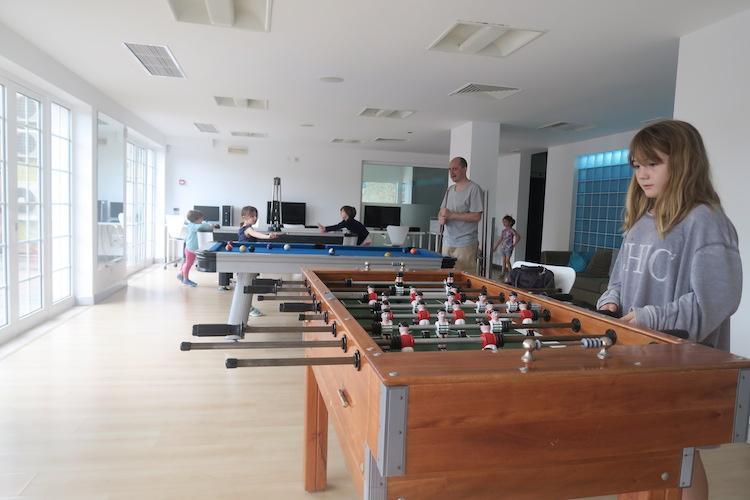 martinhal quinta games room