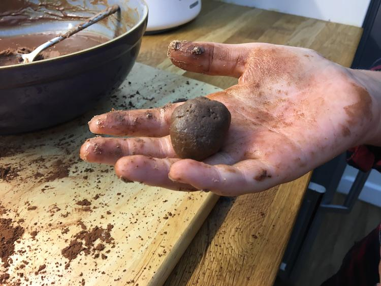halloween truffles recipe