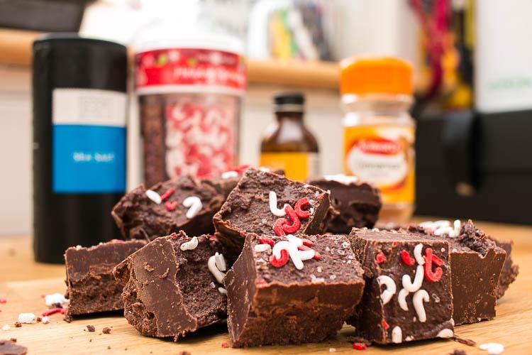 cinnamon chocolate fudge