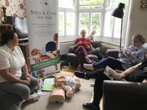 first aid workshop UK