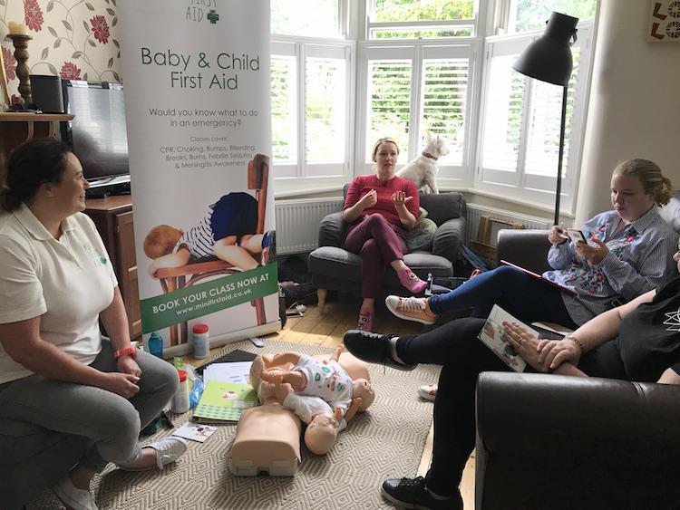 first aid workshop UK