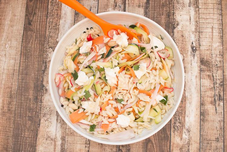 orzo pasta salad recipe