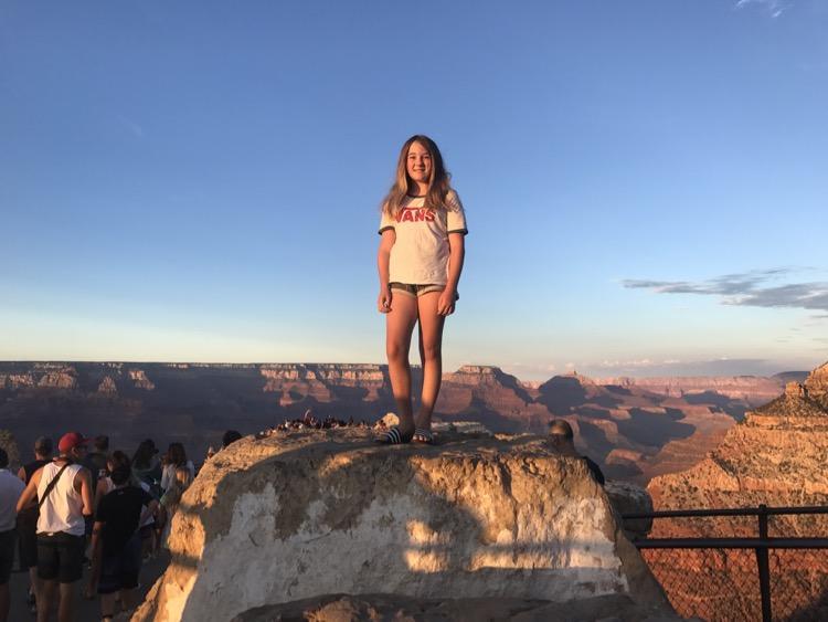Flea at Grand Canyon