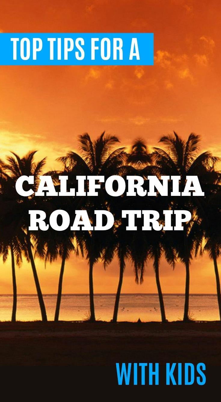 tips planning california road trip
