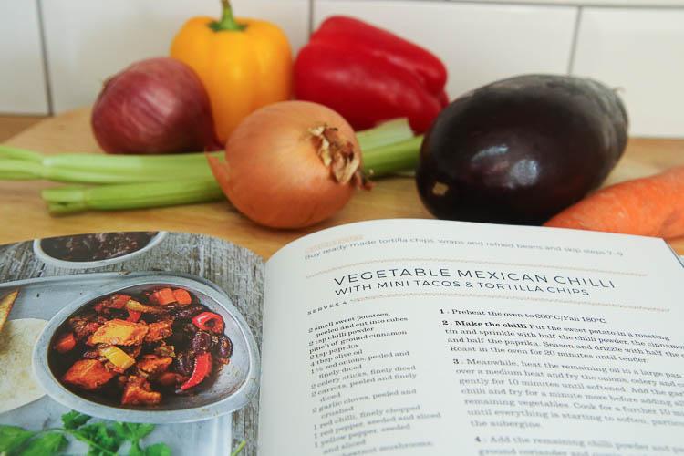 vegetable chilli recipe