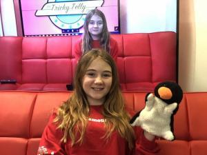 TV presenter training for kids