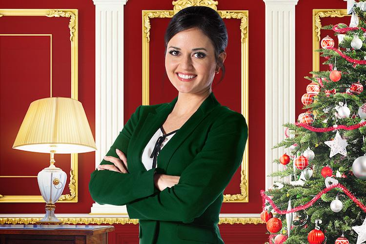 A Crown for Christmas hallmark Sky TV