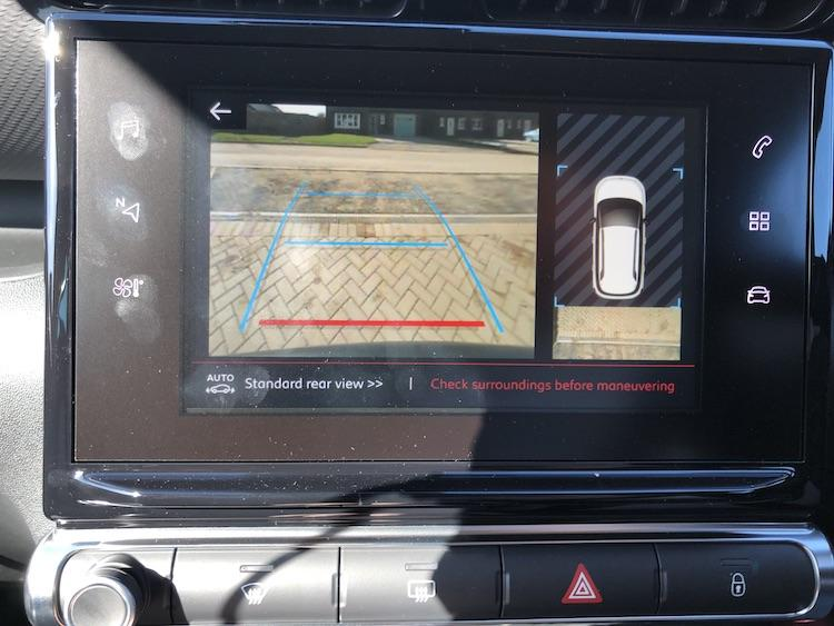Citroen C3 Aircross Review Camera Reverse