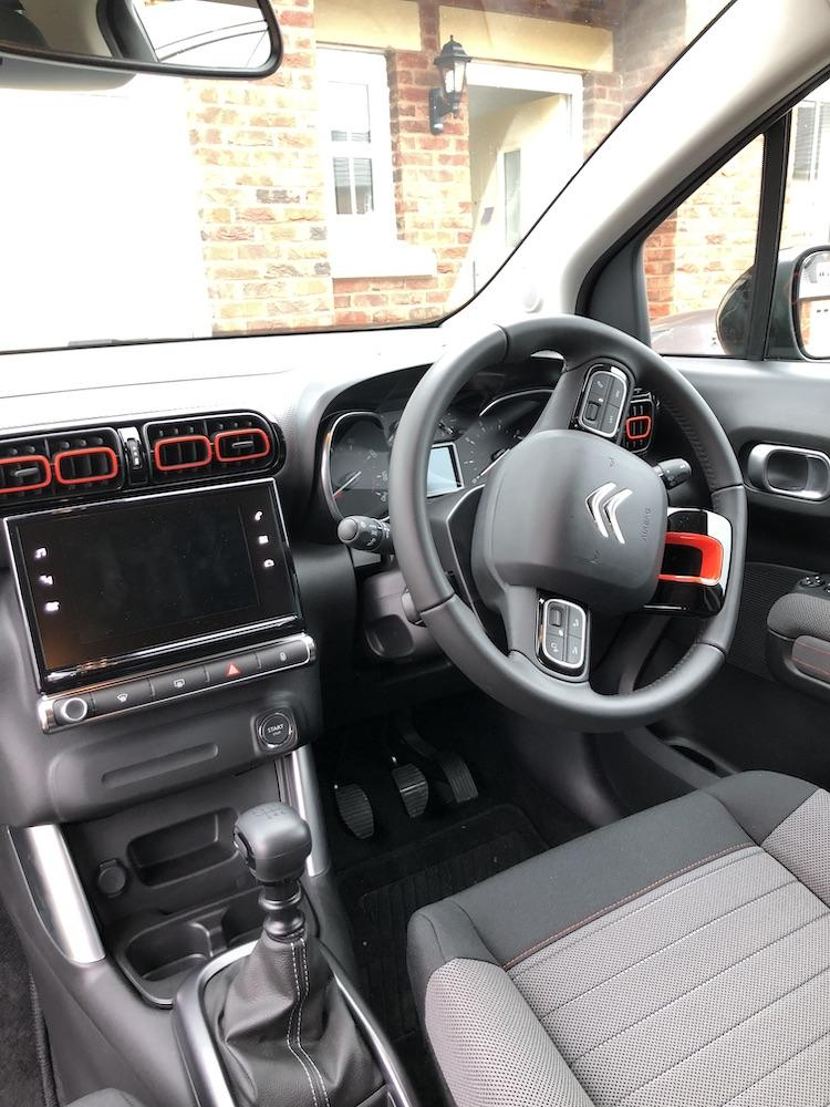 Citroen C3 Aircross interior