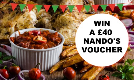 Competition: Win £40 to Spend at Nando's!