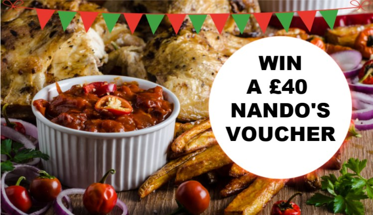WIN NANDOS COMPETITION