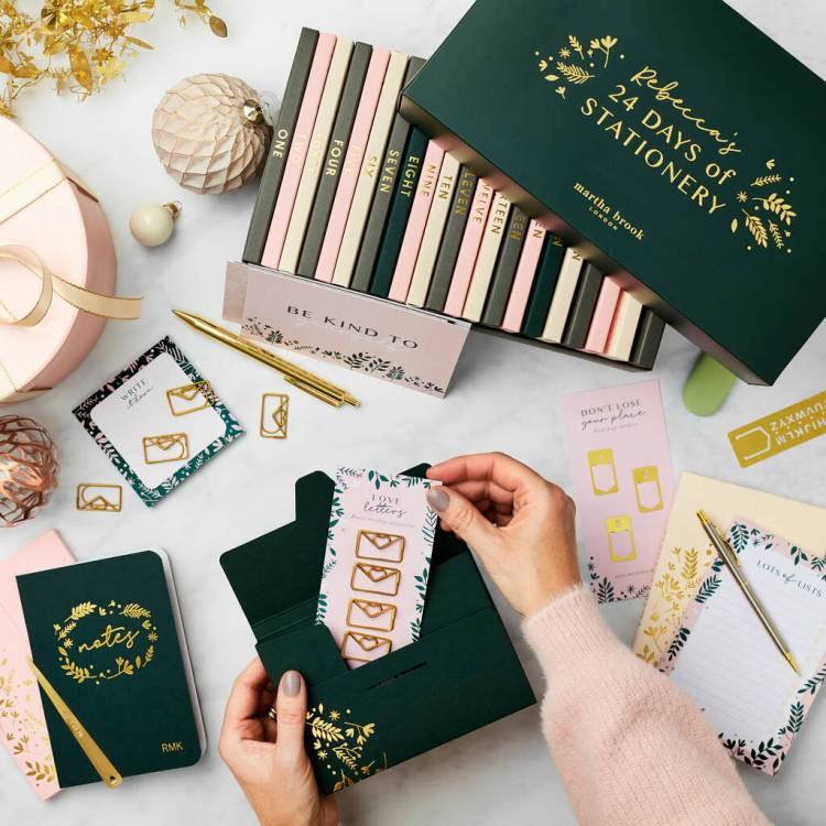 best stationery advent calendar for teens