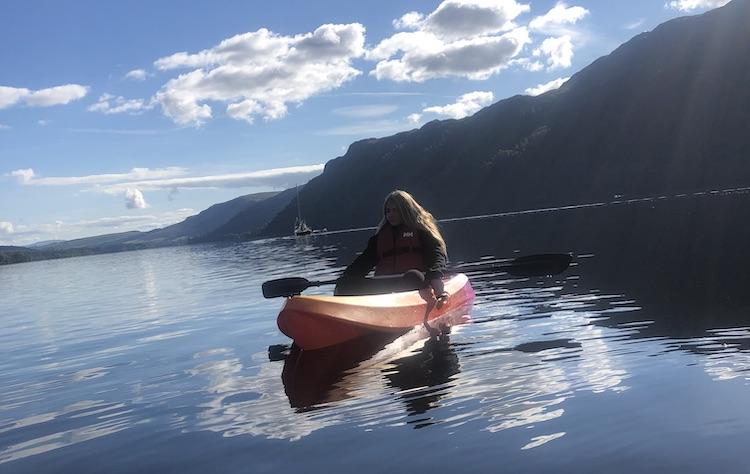 kayaking ullswater