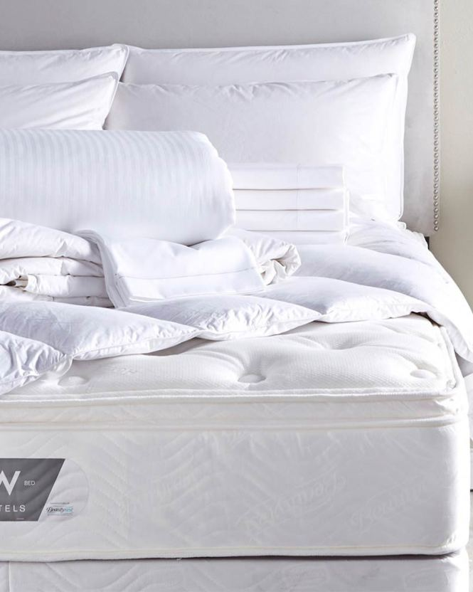 W Bed And Bedding Sets