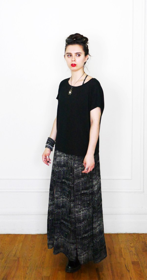 10x10 Wardrobe Challenge Dress+SlouchyTee 3