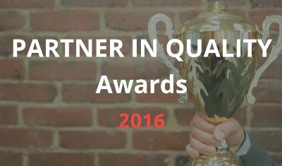 2016 Partner in Quality Awards