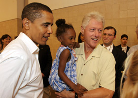 Barack and Bill