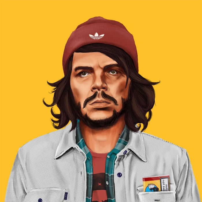 Hipstory_Illustrations_Cast_Cultural_Icons_As_Histers_by_Amit_Shimoni_2014_01