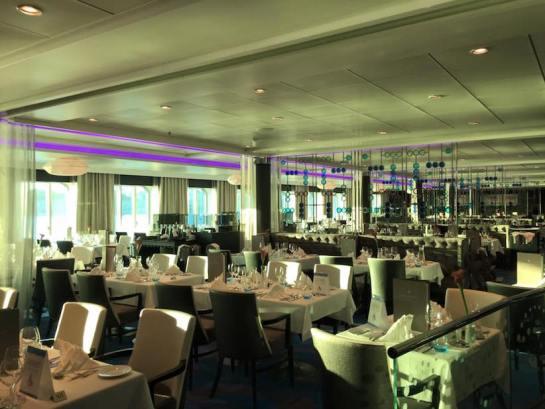 Das Atlanik Klassik und das Atlantik Mediterran waren die Premium All-Inclusive-Restaurants an Bord.