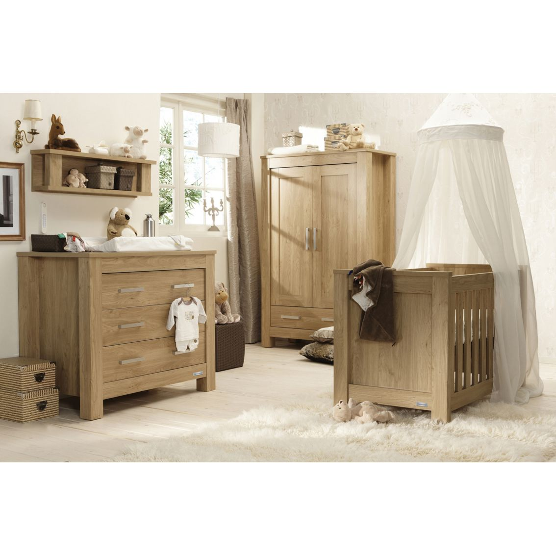 babystyle bordeaux 3 nursery furniture set 3 Piece Nursery Set id=93122