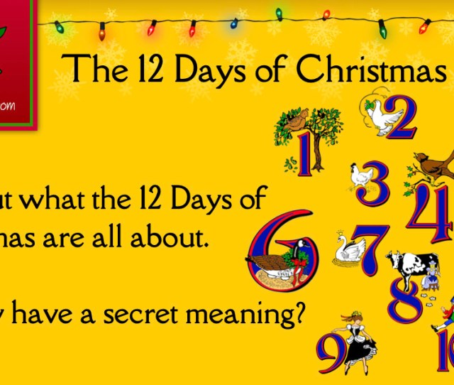 The  Days Of Christmas Christmas Customs And Traditions Whychristmascom