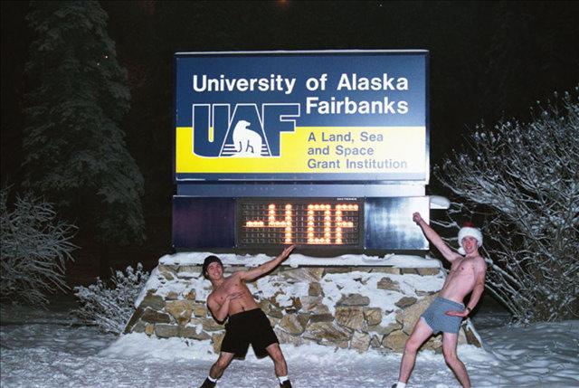 University Alaska Fairbanks Northern Lights
