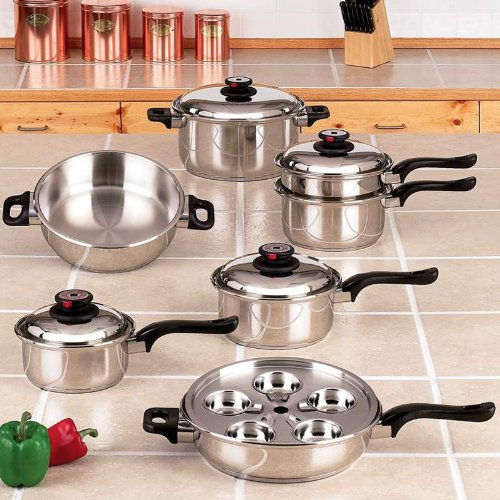Maxam Waterless Cookware Reviews