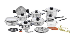 Waterless Cookware Comparison - Best Waterless Cookware Brands